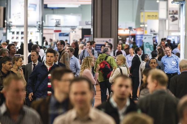 Intergeo visitors. © HINTE GmbH