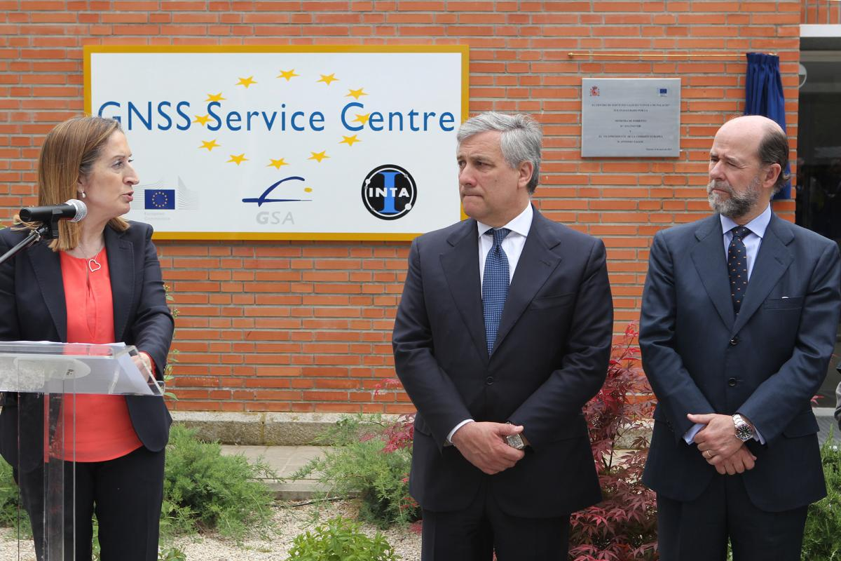Inauguration of the European GNSS Service Centre, Madrid