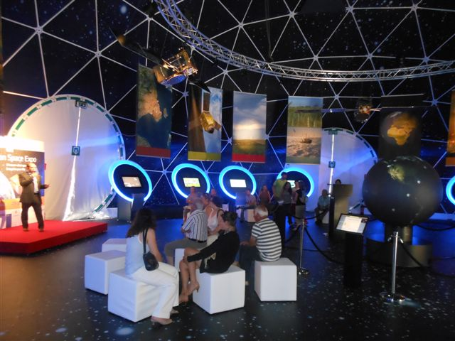 European Space Expo, Toulouse 2012