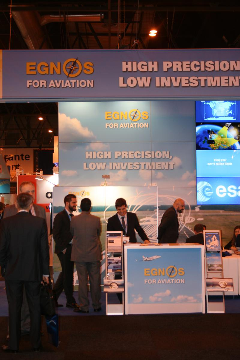 Aviation Powered by #EGNOS is scheduled for 8 March from 14:00 – 15:00 in the Honeywell Tower Theatre.