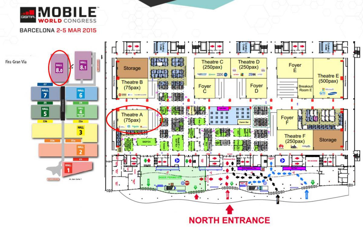 Mobile World Congress floor plan (click to enlarge)