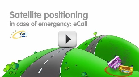 EGNOS eCall video: Satellite positioning in case of emergency