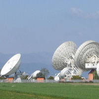 Telespazio satellite ground station at Fucino, Italy © ESA