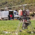Testing an Unmanned Areal Vehicle in Spain