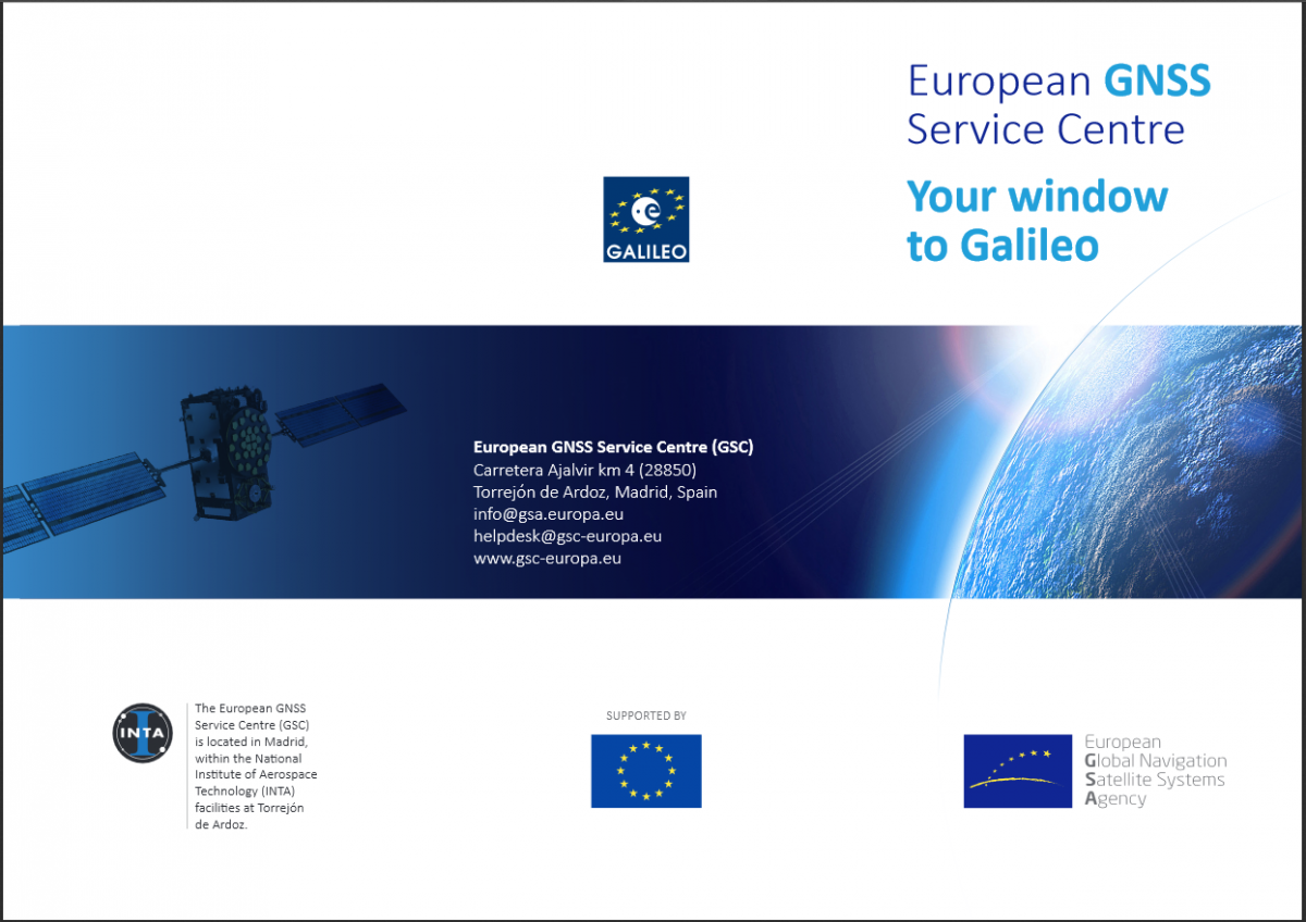 The European GNSS Service Centre in a nutshell