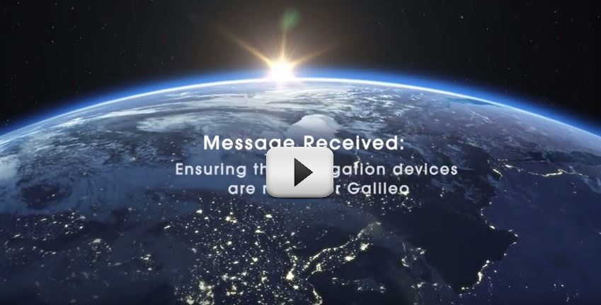 Video: Message Received: Ensuring that Navigation Devices are ready for Galileo