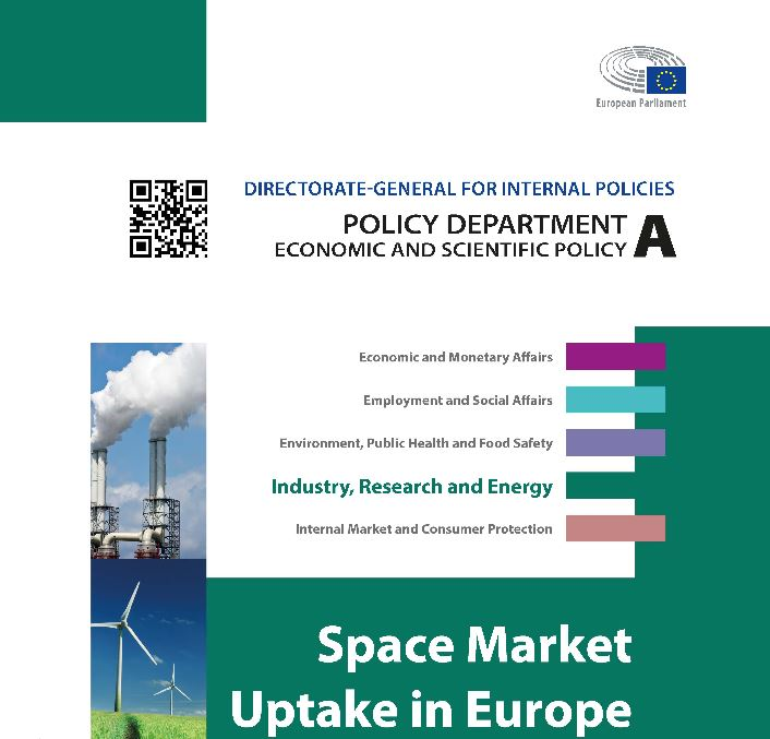 Recommendations from a recent European Parliament study on Europe's downstream space market reinforce the key messages and findings of the GSA's ongoing work.