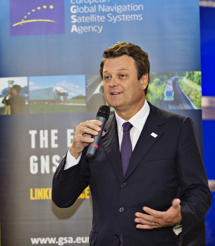 Carlo des Dorides, Executive Director of the European GNSS Agency (GSA)