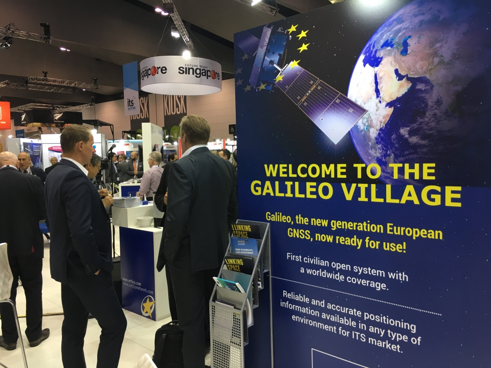 Galileo for intelligent transport systems, showcased at the ITS World Congress in Melbourne, Australia