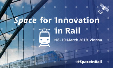 The event will be an opportunity to discuss innovative GNSS applications for the rail sector.