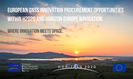 Innovation procurement offers interesting opportunities for EGNSS applications.
