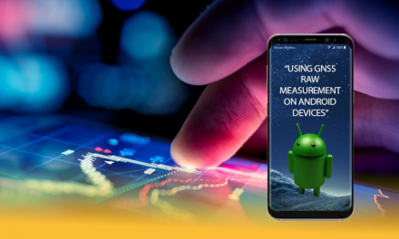 A GNSS tutorial at IPIN 2018 highlighted the benefits of using raw measurements in Android