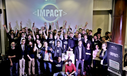The winning start-ups selected in a previous IMPACT Open Call