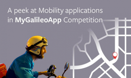 Many of the submissions in this year's MyGalileoApp competition target solutions that improve users' mobility experience