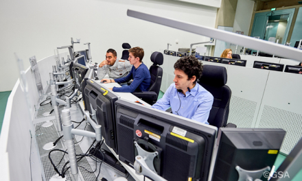 All four of the satellites launched on July 25 have been transferred from the GSA's Early Orbit Phase (EOP) team to the Galileo Control Centres (GCC).