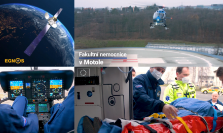 Thanks to EGNOS, the European Satellite-Based Augmentation System, pilots can navigate through the clouds and fog, and land safely at the Prague-based hospital.