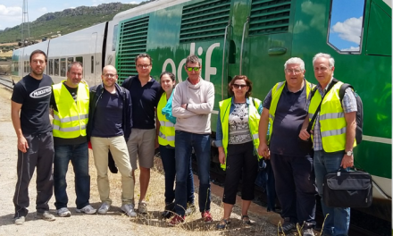 EGNSS and ERTMS: testing team
