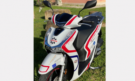 The consortium led by Vitrociset, Spaceexe, Antenna Provider and with the precious contribution of Honda rolled out a device equipped with sensors and a Galileo-enabled receiver that can be integrated into small/medium motorcycles.