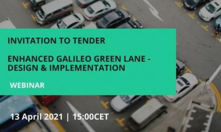 Galileo Green Lane – keeping Europe moving during the pandemic.