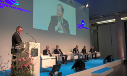 GSA Head of Market Development Gian Gherardo Calini spoke about Galileo's contribution to autonomous driving