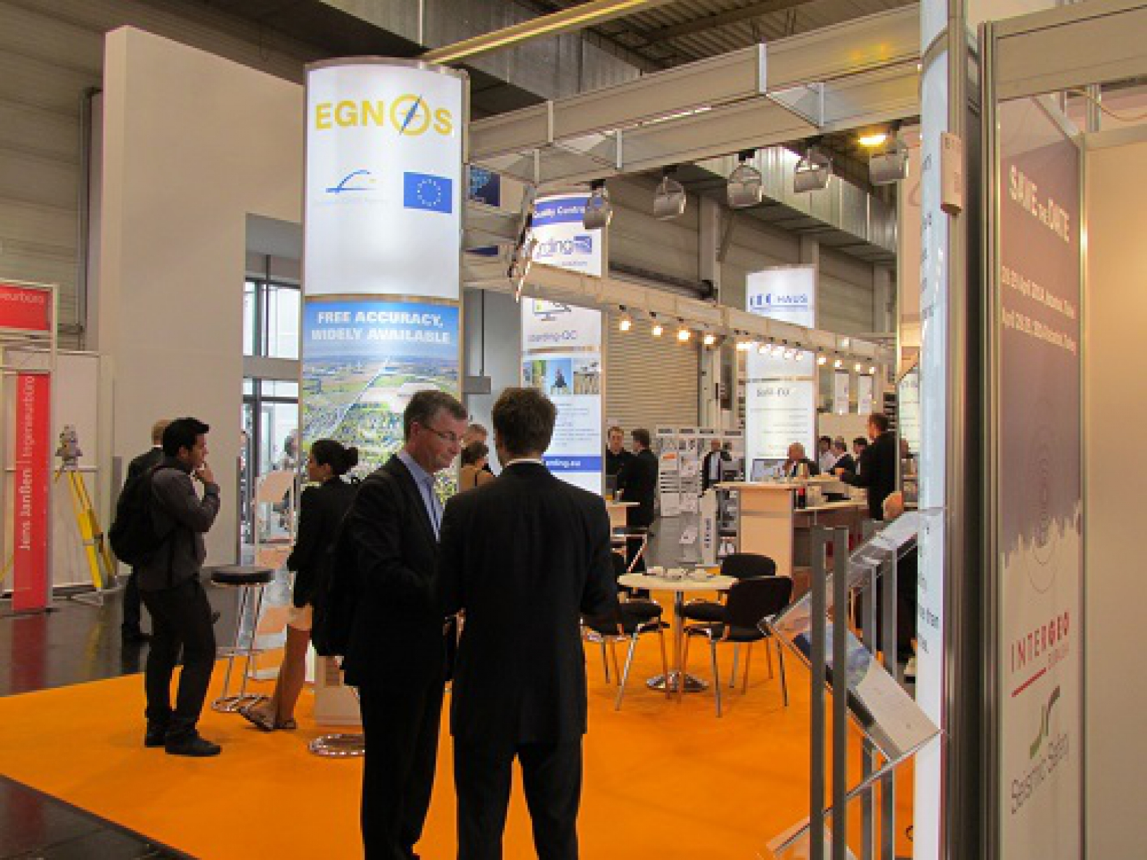 INTERGEO: innovation in geoinformation, EGNOS and Galileo