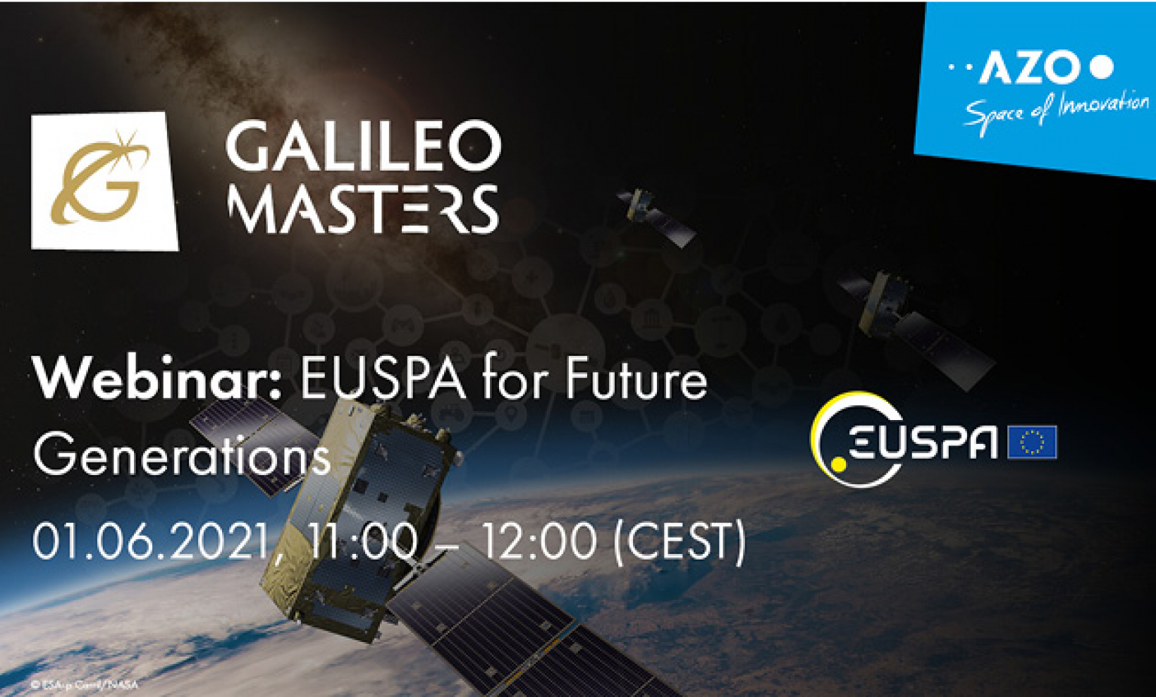 The deadline for submissions in this year's Galileo Masters is July 19