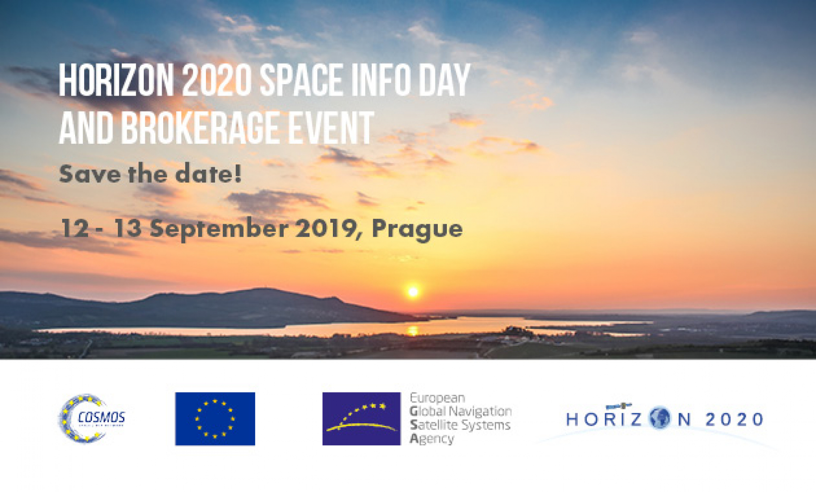 The Horizon 2020 Space Information Day and Brokerage Event will take place in Prague on 12-13 September 2019.