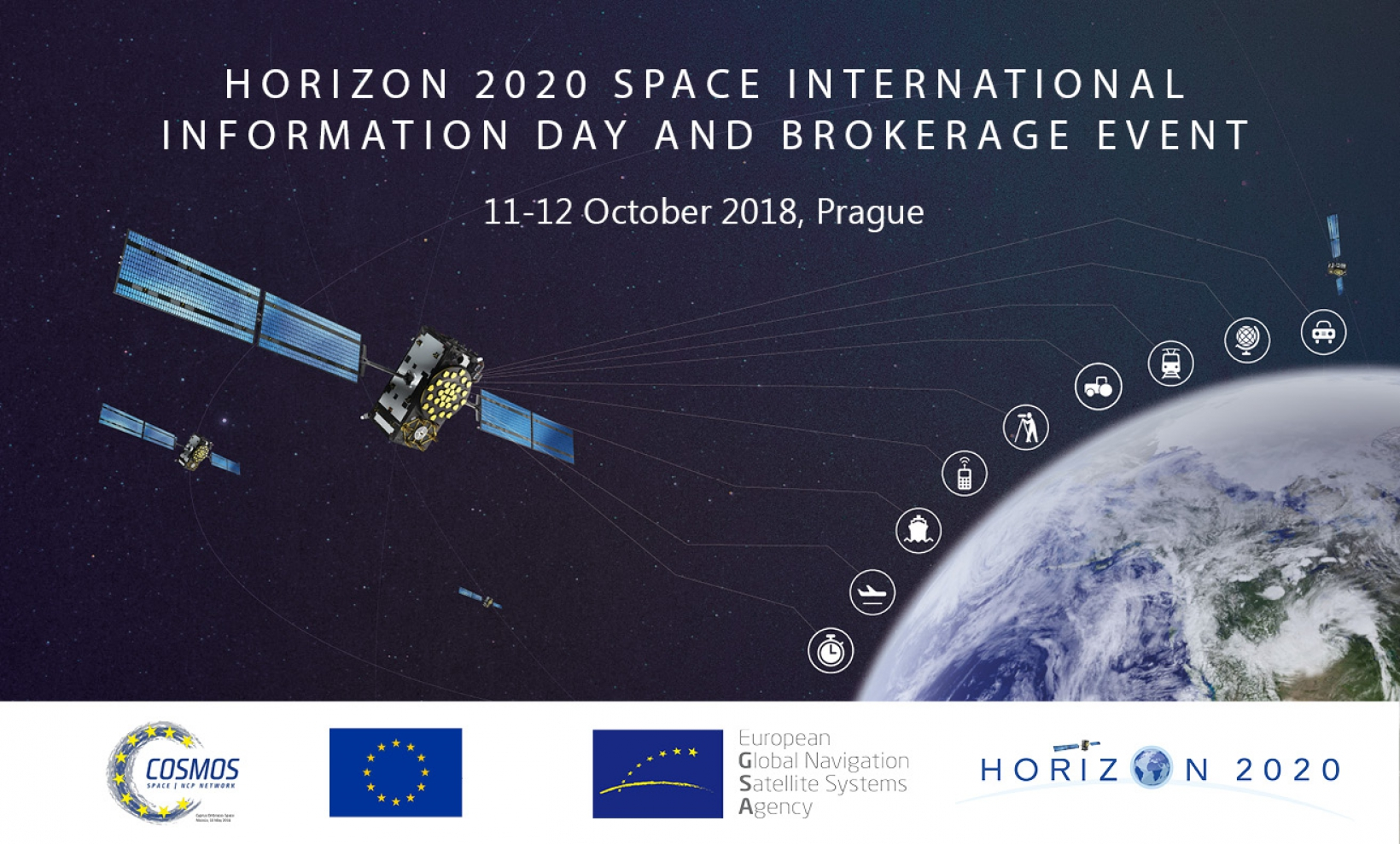 The event will inform about space opportunities in Horizon 2020 and beyond.