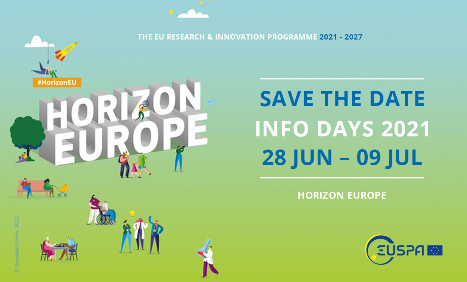 Save the date for Horizon Europe Info Days 2021!