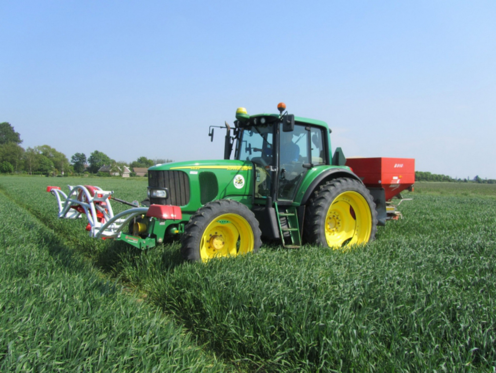 Precision farming becoming more and more important in modern agriculture