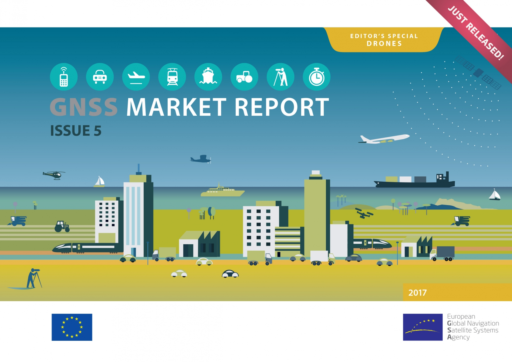GNSS Market Report 2017 - just released.