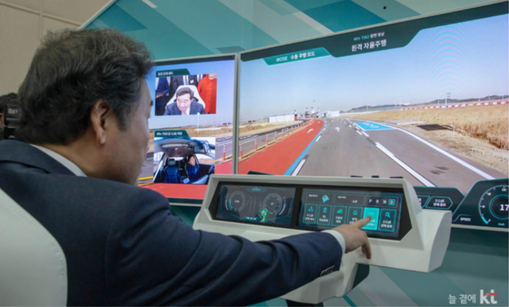 The Korea Telecom´s 5G Remote Cockpit system