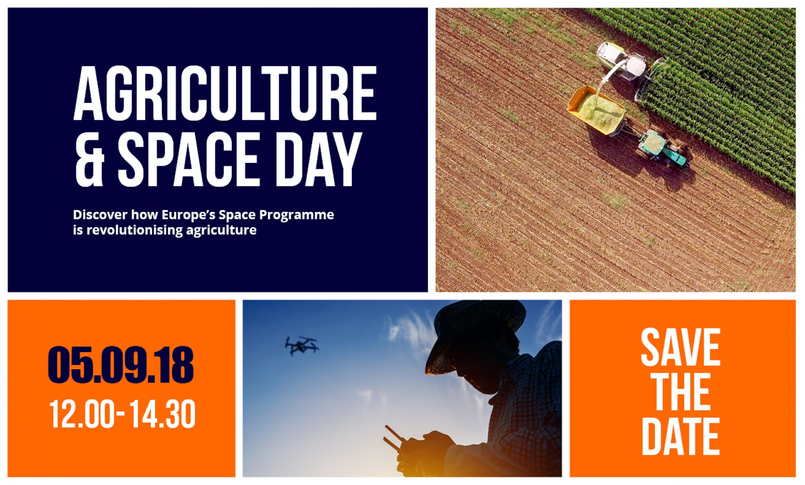 Agriculture and Space Day – showcasing how EU space programmes are revolutionising agriculture
