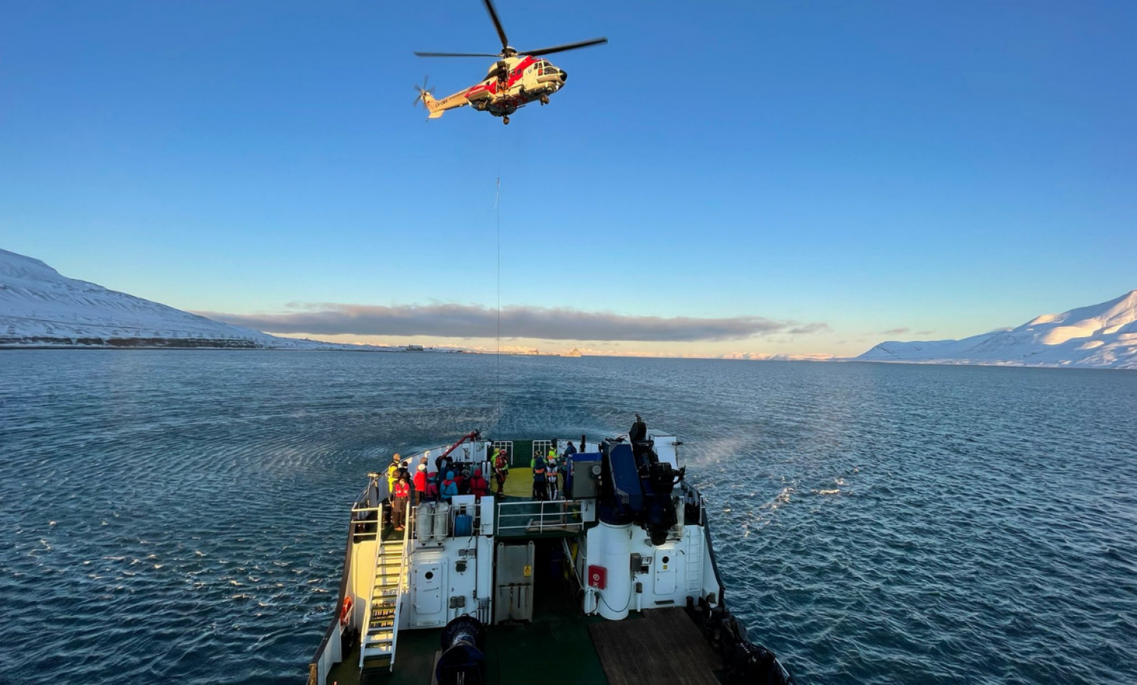 AMRO 2021 which stands for Arctic Mass Rescue Operation was a full-scale live exercise that took place on Friday 8 October 2021 organized by the Norwegian authorities.