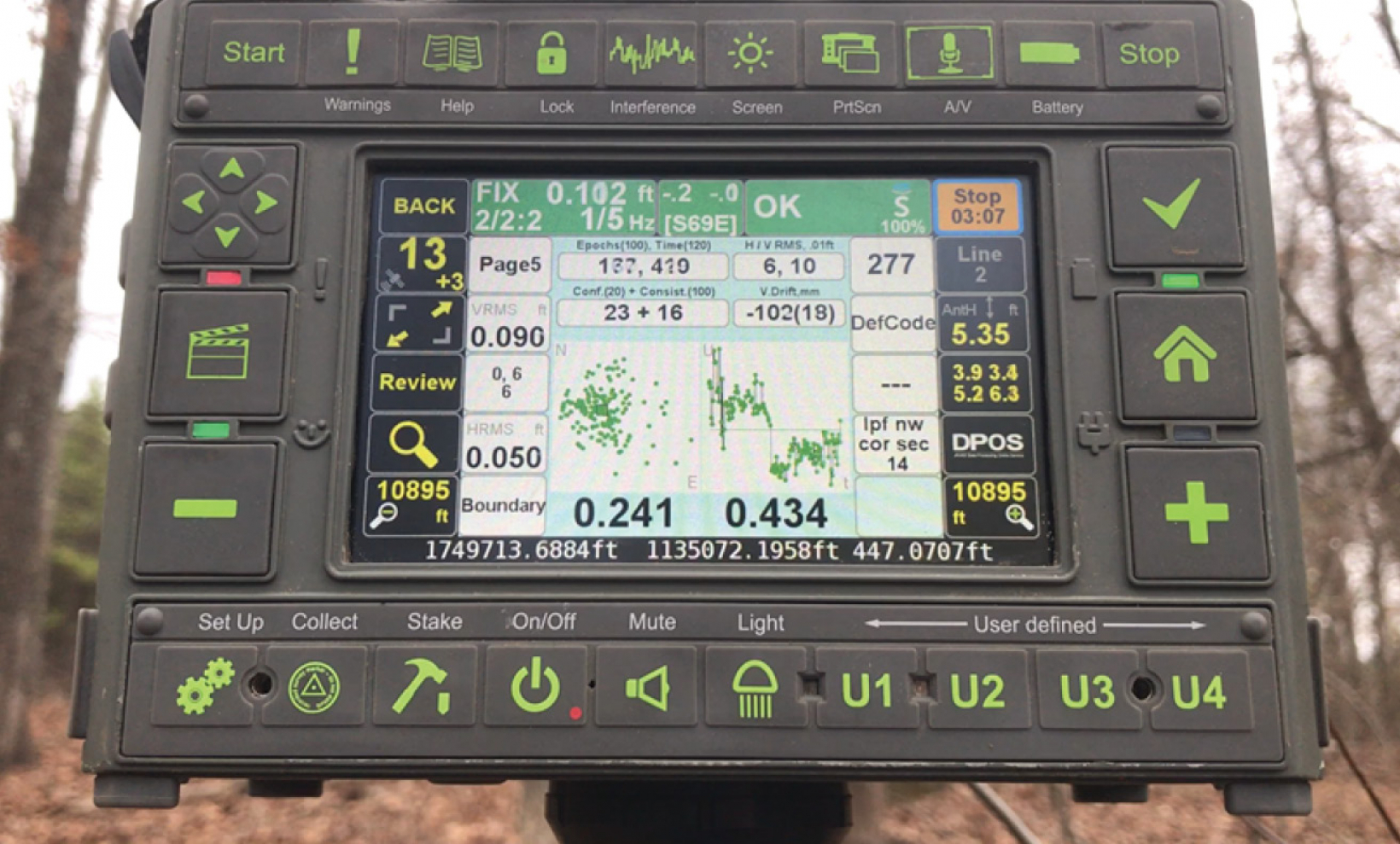 Triumph-LS Plus obtains stable excellent RTK result in challenging environment using all Galileo signals