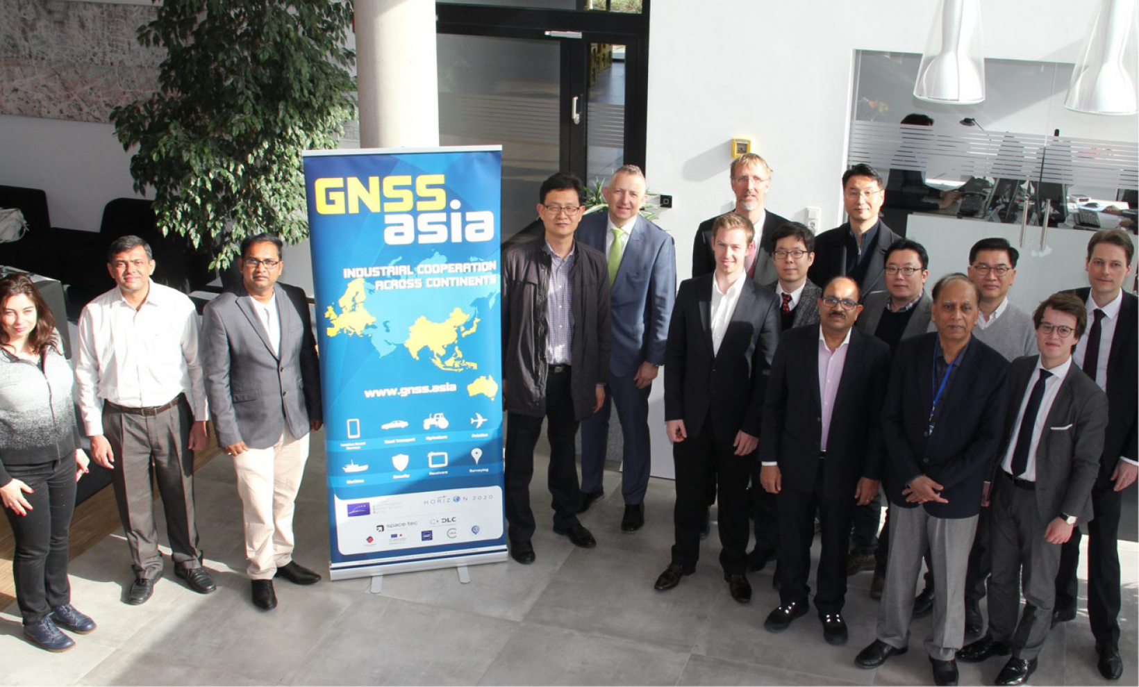 The GNSS.asia roundtable promoted cooperation between GNSS research and industrial communities in Europe and Asia-Pacific.