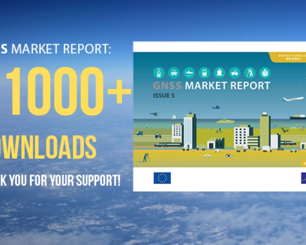 The GNSS Market Report is insightful and gives a nice overview of what the GNSS market is all about.