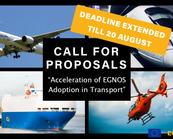 The deadline for submissions is extended until 20 August 2021.