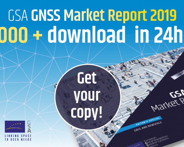 The latest issue of the GNSS market Report was eagerly awaited by all market stakeholders.