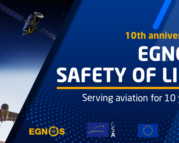 The EGNOS Safety of Life service has been supporting civil aviation in Europe since it was launched in 2011.