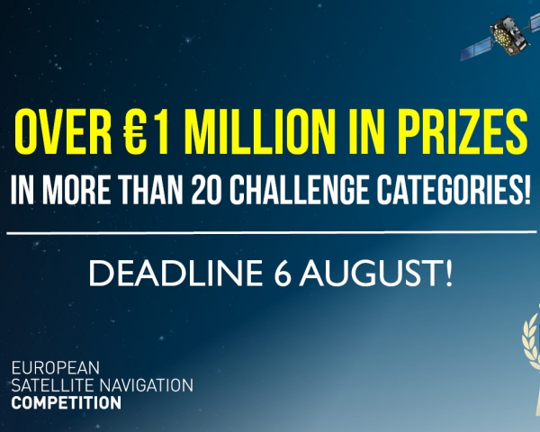 ESNC has over EUR 1 million in prizes in more than 20 challenge categories!