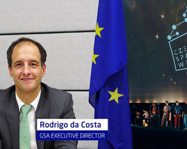 Rodrido da Costa, Executive Director of the European GNSS Agency