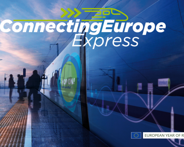 As part of the European Year of Rail, a special EU train will criss-cross the continent from 2 September to 7 October 2021.
