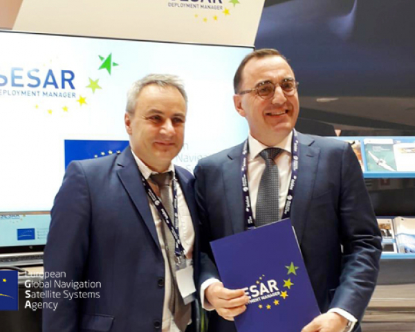 The GSA-SESAR Deployment Manager MoU will support the implementation of Galileo and EGNOS applications in aviation.
