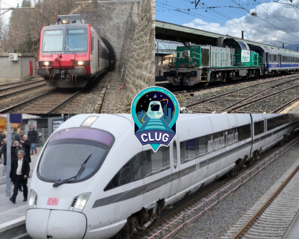 Three test trains, one per Rail Operator (SNCF, DBN Netz and SBB/Siemens), are used to collect real data.