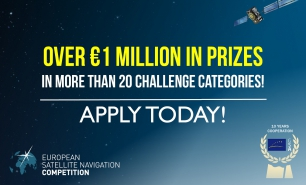 ESNC awards applications, services and ideas that use Galileo data to respond to challenges faced by business and society