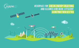 From monitoring the performance of solar panels with Copernicus to assessing heat loss of buildings with Galileo-enabled drones, #EUSpace keeps an eye on our continent's green infrastructure.