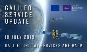 Commercial users can already see signs of recovery of the Galileo navigation and timing services.