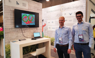 GEO++ presented its high-accuracy positioning application for Android smartphones at the GSA stand at MWC Barcelona.