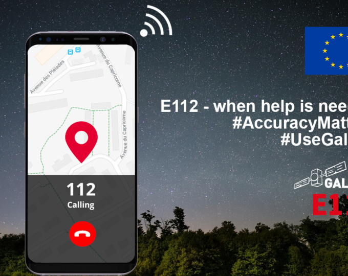 E112 is a location-enhanced version of the 112 emergency service, allowing responders to quickly and accurately locate people in distress